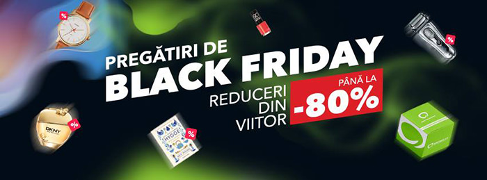 Pregatiri de Black Friday 2017 la Elefant