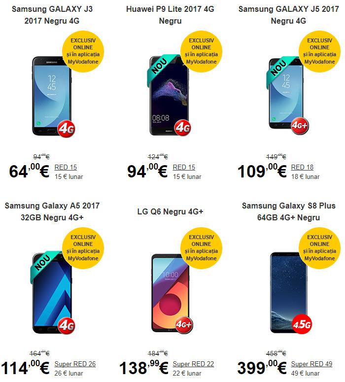 Telefoane mobile Vodafone