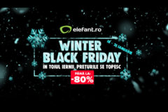 Winter Black Friday 2018 la Elefant – un weekend cu reduceri de pana la -80%