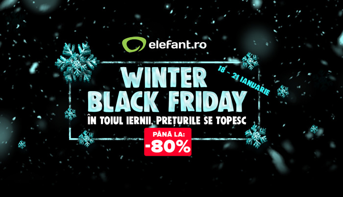 Winter Black Friday 2018 la Elefant