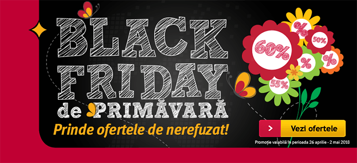 Black Friday de primavara 2018 la Altex