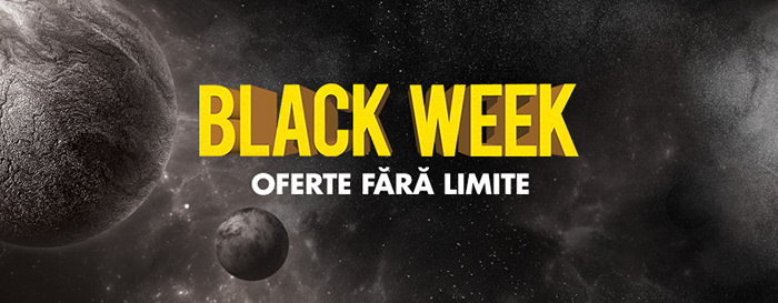 Black Week la Flanco din 20 - 26 aprilie 2018