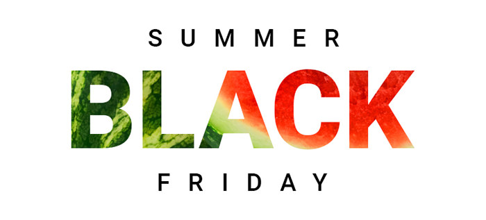Summer Black Friday 2018 la Aoro