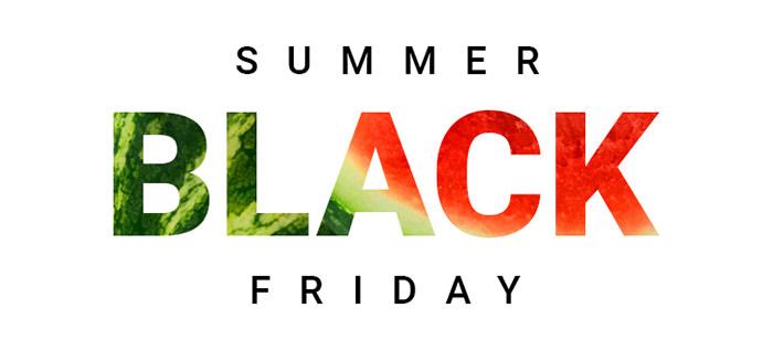 Summer Black Friday 2018 la Aoro