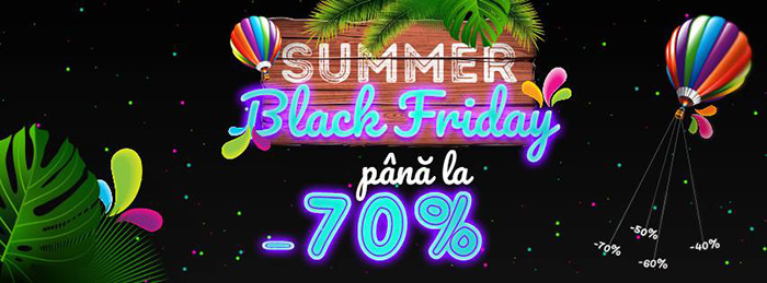 Summer Black Friday 2018 la evoMAG