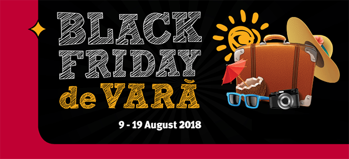 Black Friday de Vara din 9 - 19 august la Altex