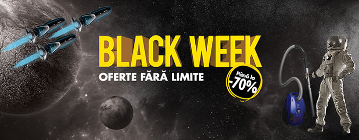 Black Week la Flanco din 6 - 11 august 2018