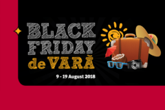 Campanie Black Friday de Vara din 9 - 19 august la Altex