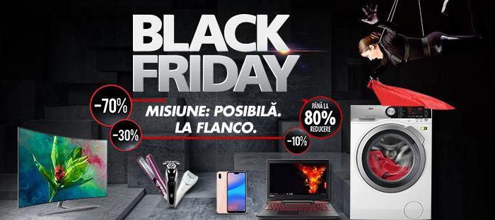 Black Friday 2018 la Flanco