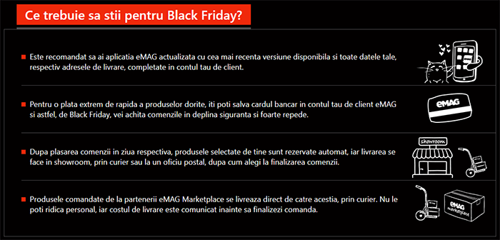 Ghid Black Friday 2018 la eMAG