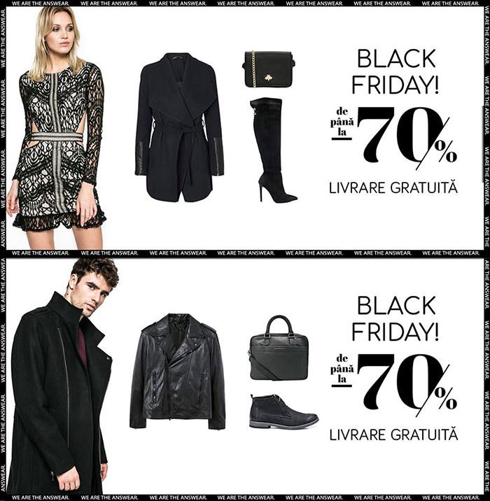 Oferte Black Friday 2017 la Answear