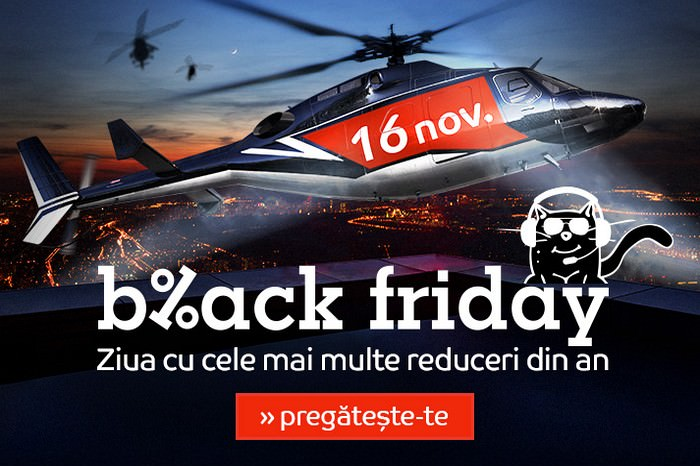 Oferte eMAG de Black Friday 2018