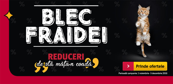 Blec Fraidei la Altex