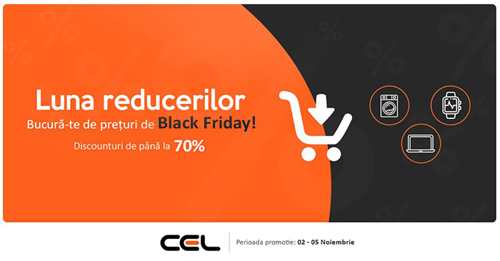 Cel.ro Black Friday 2018