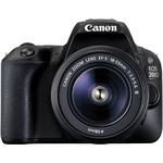 DSLR Canon EOS 200D 24MP cu obiectiv EFS-18-55 DC
