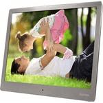 Rama foto digitala Hama Slim Steel 10 Silver cu telecomanda
