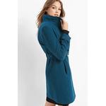 Palton dama cu cordon din stofa