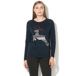 Pulover EDC by Esprit din tricot fin cu detalii cu model fair-isle