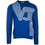 Pulover Versace jeans de culoare albastra