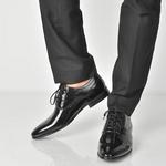Pantofi Aldo negri Sernaglia din piele naturala