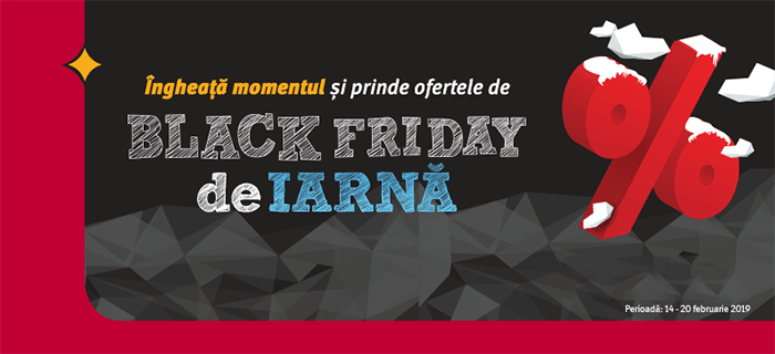 Black Friday 2019 de iarnă la Altex