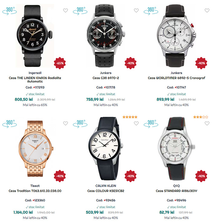 Reduceri Black Friday in July la WatchShop
