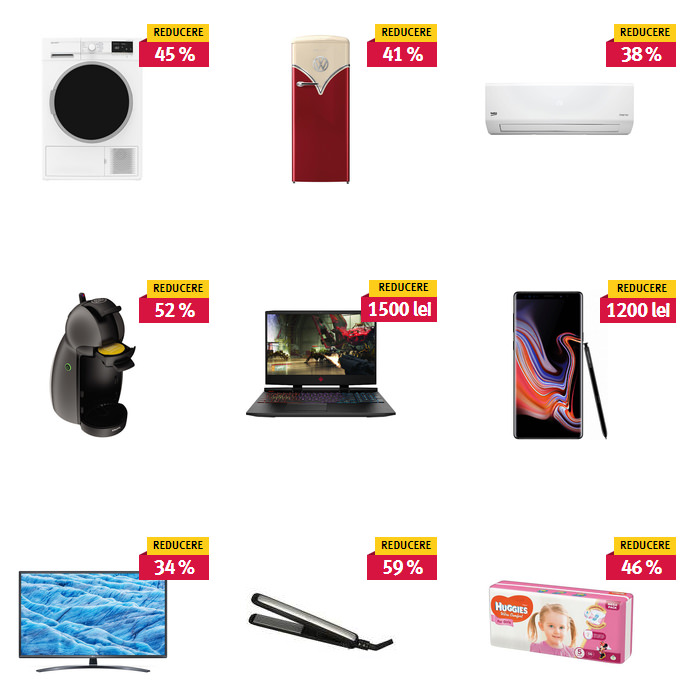 Oferte Black Friday de vară 2019 la Altex