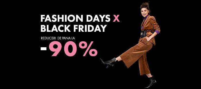 Black Friday 2018 la FashionDays