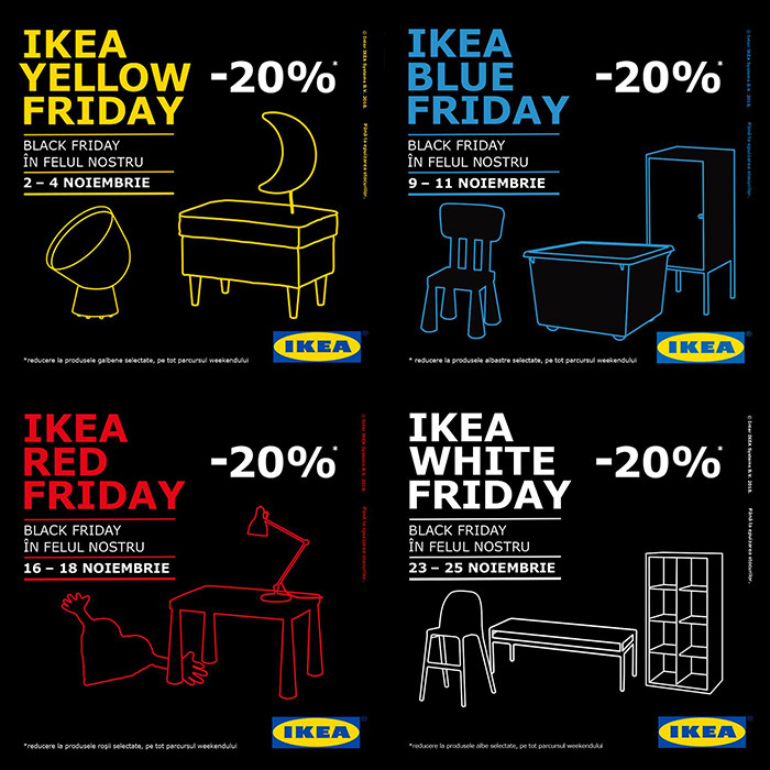 Black Friday 2018 la IKEA