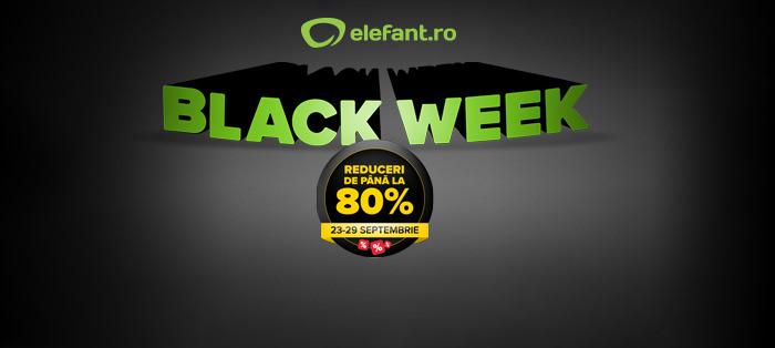 Black Week la Elefant