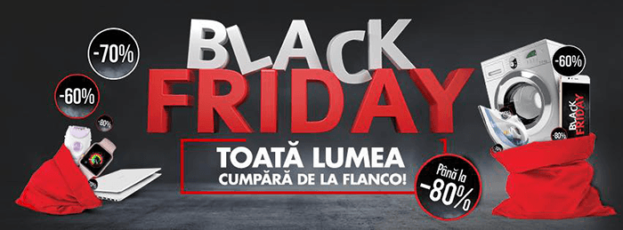 Black Friday 2019 la Flanco