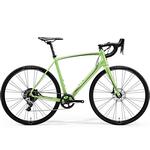 Bicicleta cursiera Merida Ride Disc Adventure verde/gri