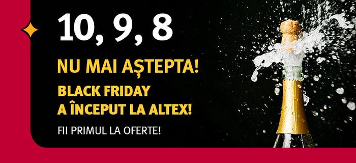 Altex Black Friday 2019 nu mai aștepta