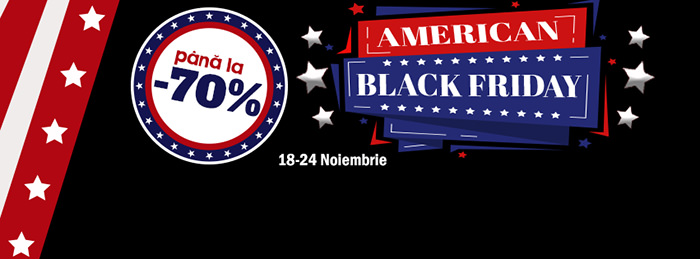 American Black Friday 2019 evoMAG