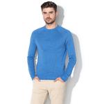 Pulover tricotat fin din amestec de lână UCB
