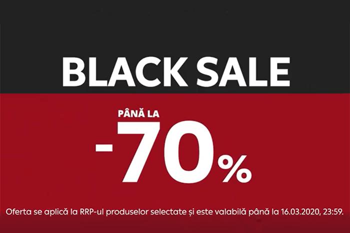 Black Sale din 10 - 16 martie 2020 la Vivre