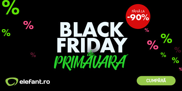Black Friday 2020 primavara Elefant
