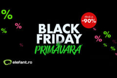 Black Friday primavara Elefant 2020