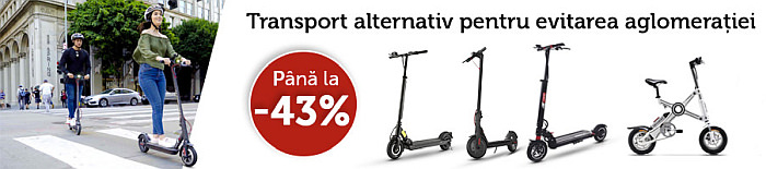 evoMAG trotinete electrice Spring Black Friday