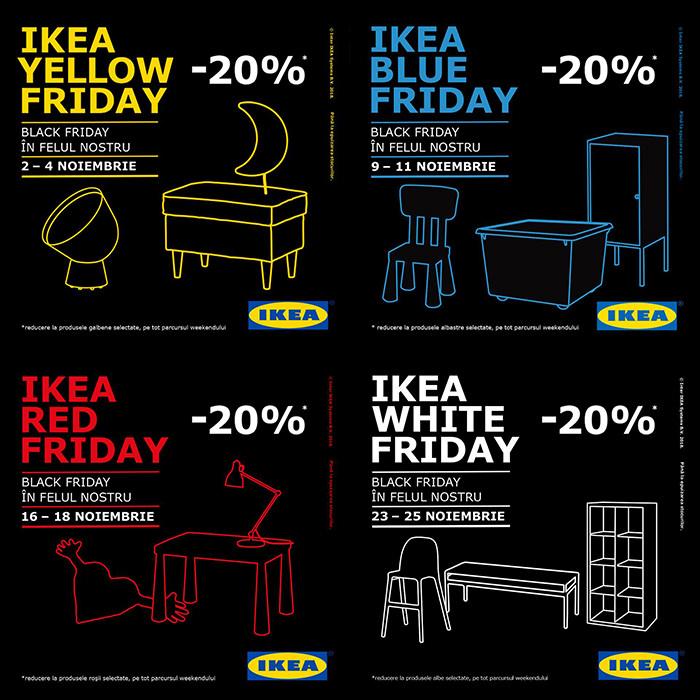 Black Friday 2018 la IKEA