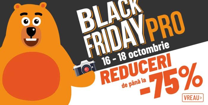 reduceri F64 75% de Black Friday PRO