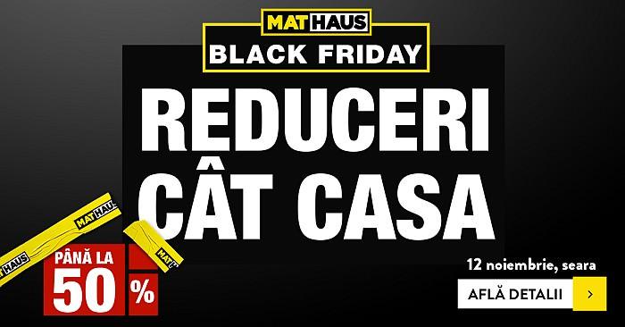 Black Friday 2020 la Mathaus