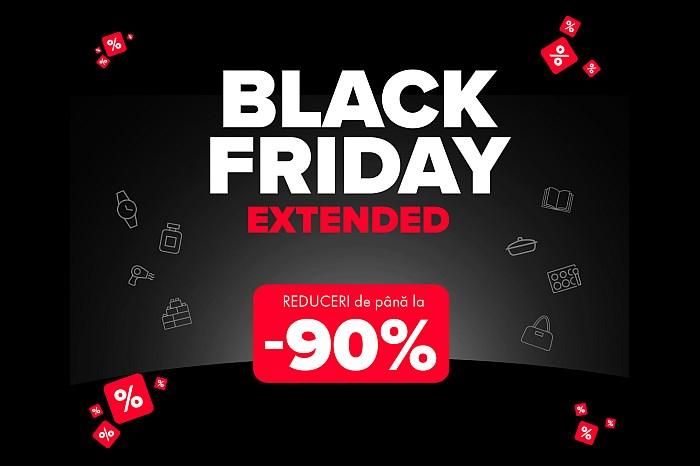 Black Friday Extended sau Black Weekend