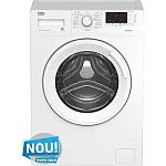 Mașină de spălat rufe slim Beko WRE7512XWW SteamCure 7 kg
