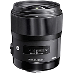 Obiectiv Sigma 35mm F1.4 pt Canon EF