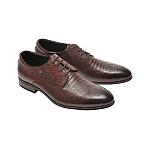 Pantofi Otter maro din piele naturală model F335612