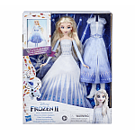 Păpușă Frozen 2 Transformarea Elsei