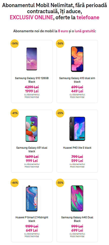 oferte telefoane Telekom Black Friday 2020