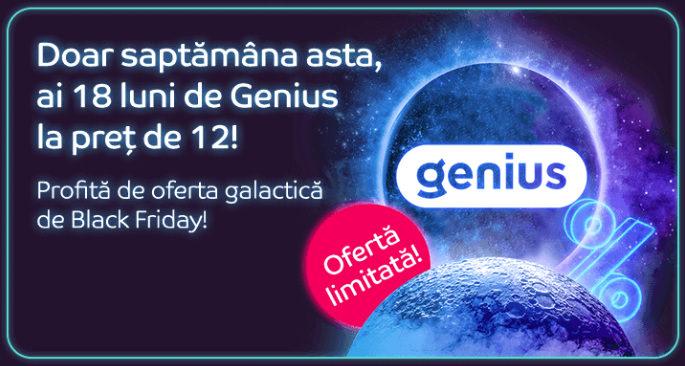 promotie eMAG Genius Black Friday 2020