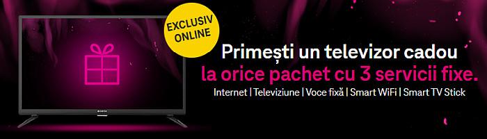 promotie Telekom Black Friday televizor servicii fixe